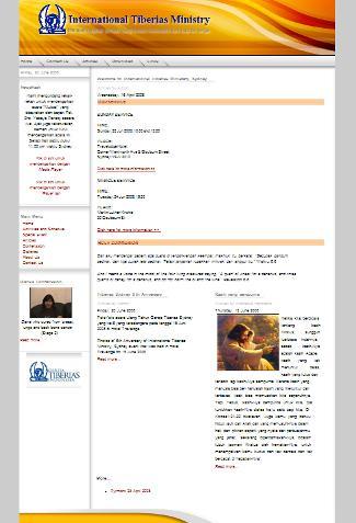 Website Tiberias Sydney